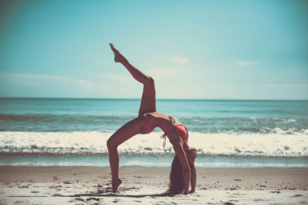 yoga mujer
