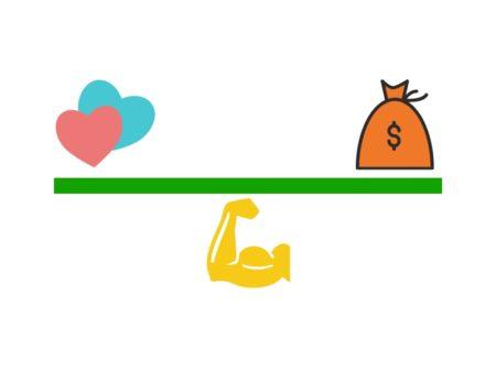 dinero relaciones salud
