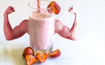 batidos para subir de peso y masa muscular