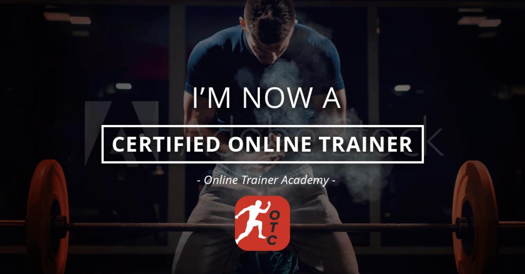 Certificado Por La Online Trainer Academy