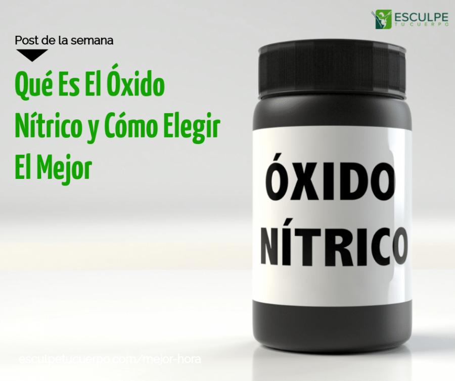 óxido nítrico