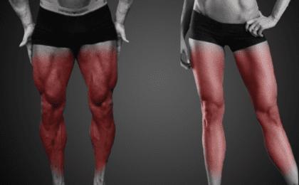 como armar una rutina de piernas