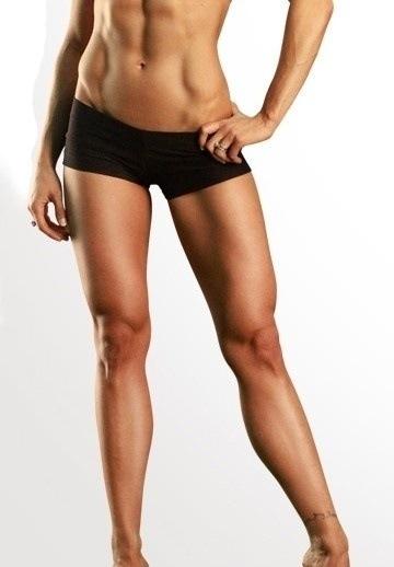 piernas fitness mujer