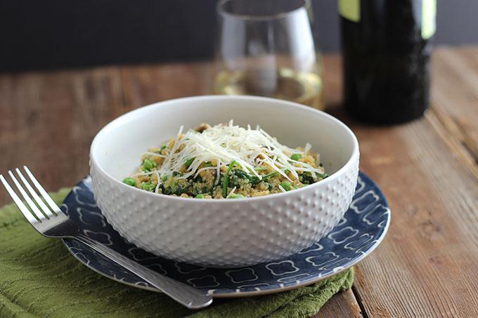 receta facil de quinoa
