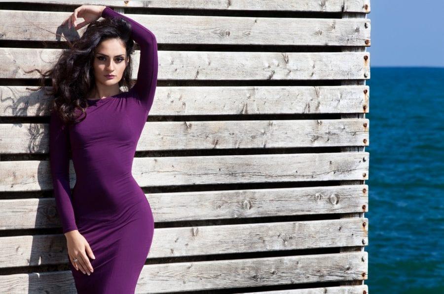 Mujer proporciones cintura cadera