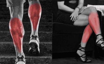 rutina de ejercicios para pantorrillas en el gimnasio