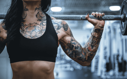 tatuajes y ejercicio