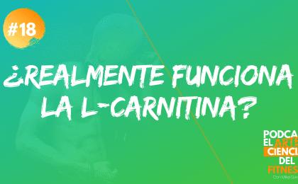 para qué sirve la l-carnitina