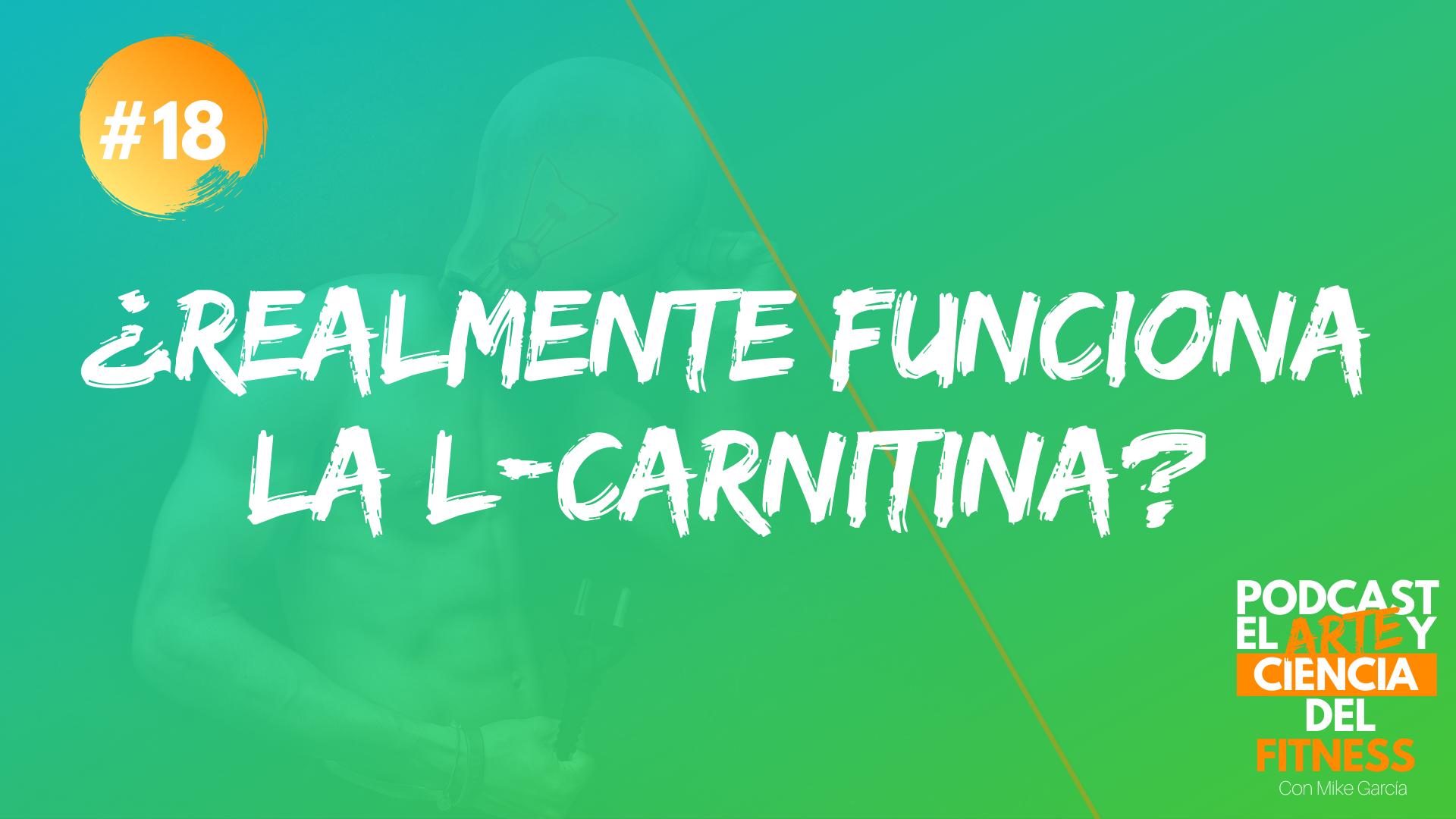 Podcast #18: ¿Realmente Funciona La L-Carnitina?