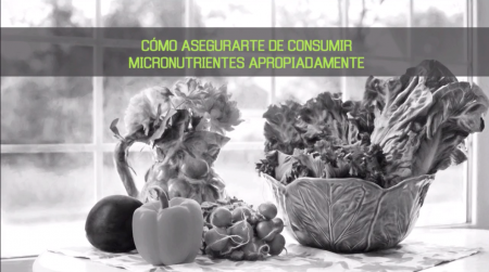 consumir micronutrientes adecuadamente