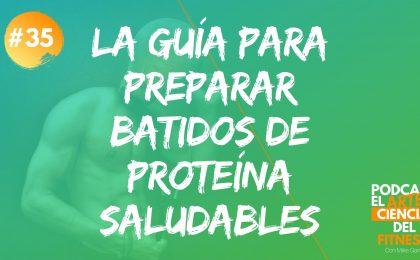 Batidos de proteína caseros para ganar masa muscular