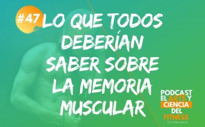 cómo funciona la memoria muscular