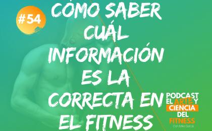 Cómo Saber Cuál Información es la Correcta en el Fitness