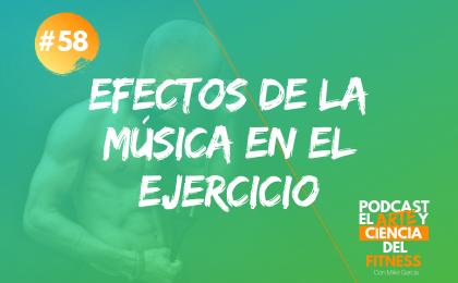 Efectos de la música en el ejercicio