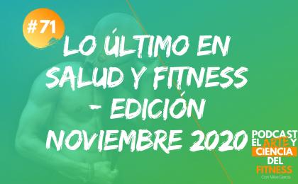 lo último salud y fitness - noviembre 2020