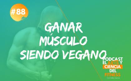 ganar músculo siendo vegano 2