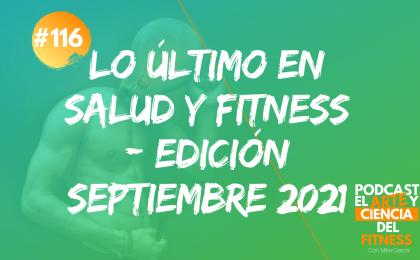 lo último salud y fitness septiembre 2021